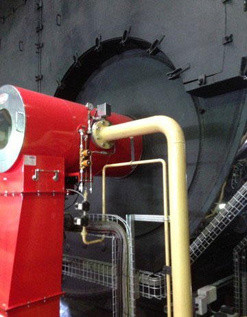 Coal Fired Burner - Steam Generation