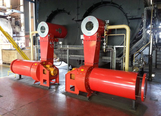 Coal Fired Burner Conversion - Steam Generation