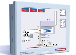 Combustion Control Panel - Steam Generation