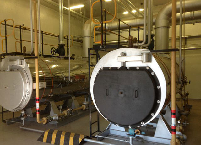 Boiler House Installation By Steam Generation