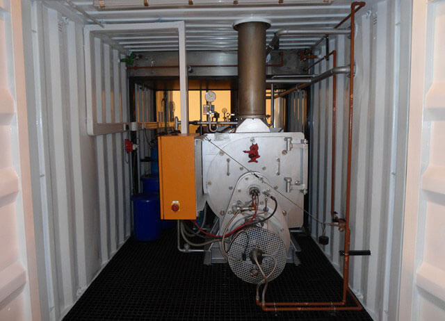 Boilers In Container By Steam Generation