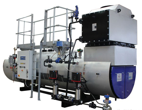 Cochran Gas Waste Heat Boiler With Economizer
