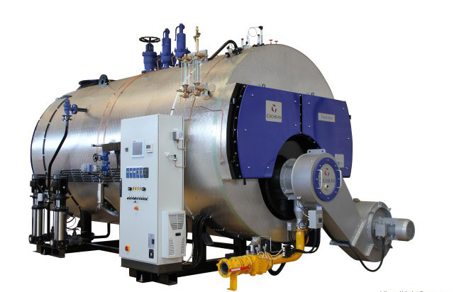 Cochran Thermax Boiler, Equinox Burner. Steam Generation