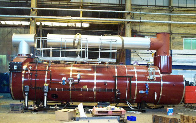 Cochran Waste Heat Boiler for St Thomas Hospital