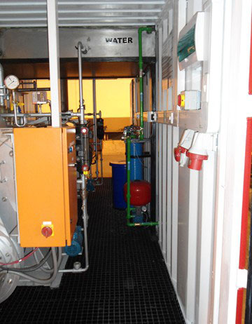 Complete With Electrical Supply, Water Softener, Fuel Feedwater Tanks