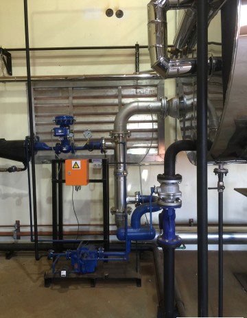 Installation Of Heat Exchanger
