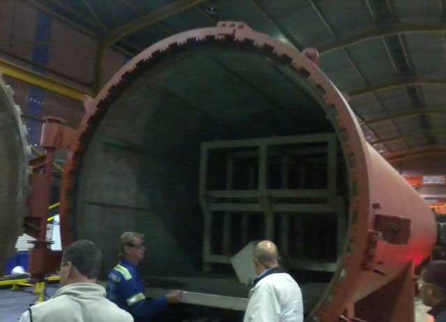 Installation Of New Autoclave