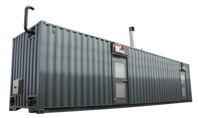Modified Container Boiler House