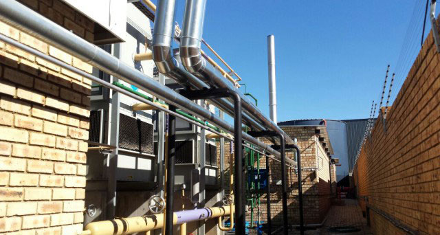 pipework and brackets