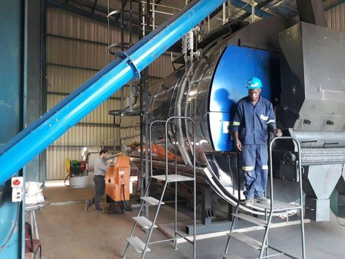 Aller Aqua Zambia Coalmaster Installation
