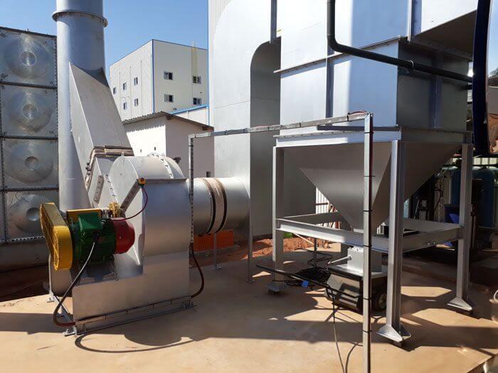Aller Aqua Zambia Cochran Coalmaster Installation