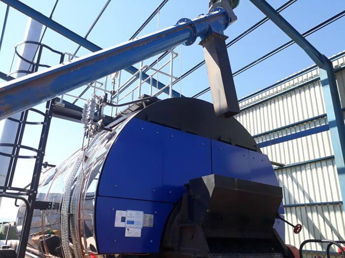 Aller Aqua Zambia Installation of Cochran Coalmaster 8T Boiler