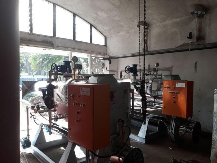 Laico Hotel Gambia Steam Boilers Installation