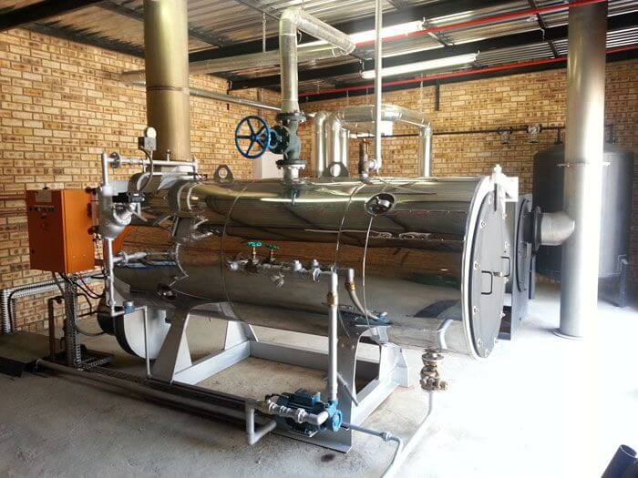 New 1256Kg Hour Steam Boiler Installation
