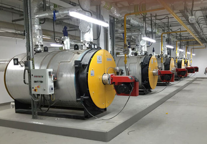 Cochran Hot Water Gas Fired Boilers in Dubai Hotel