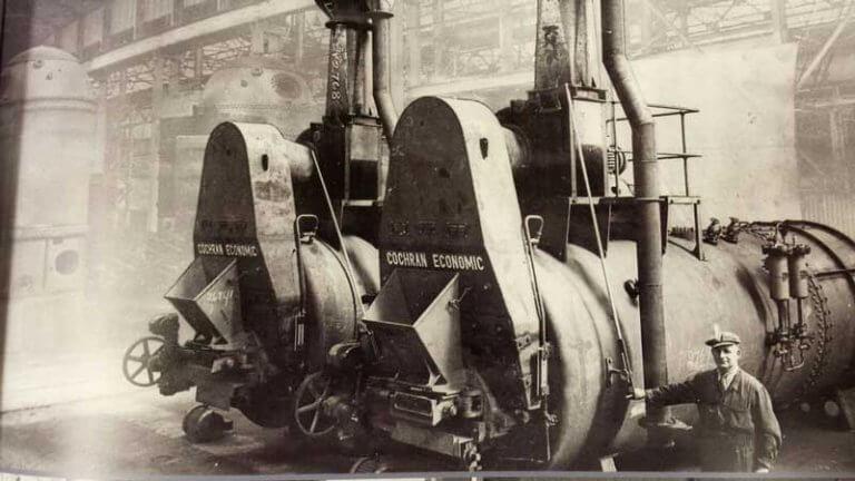 Cochran Coalmaster - Steam Generation