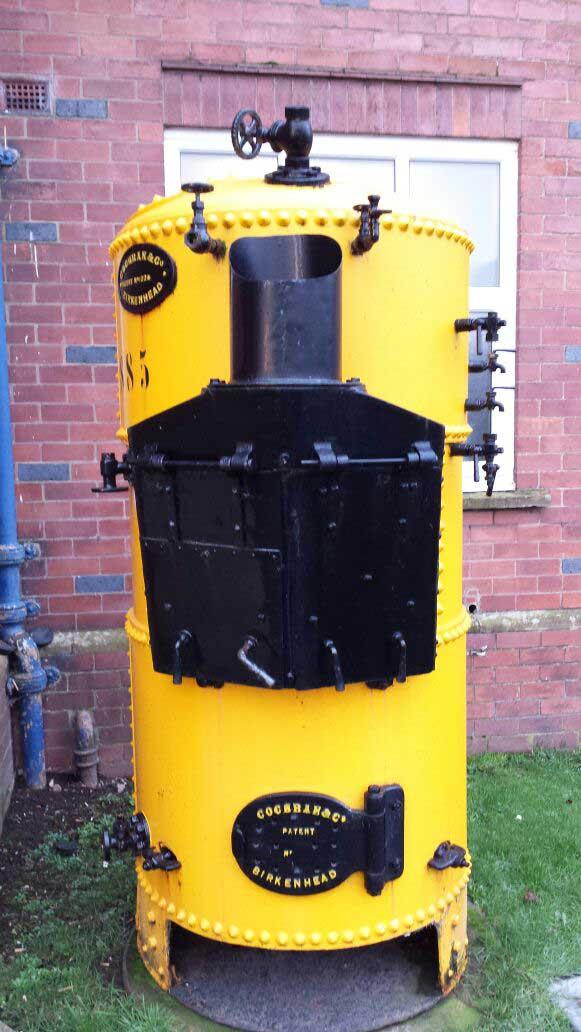 Cochran Vertical Coal Boiler - Steam Generation